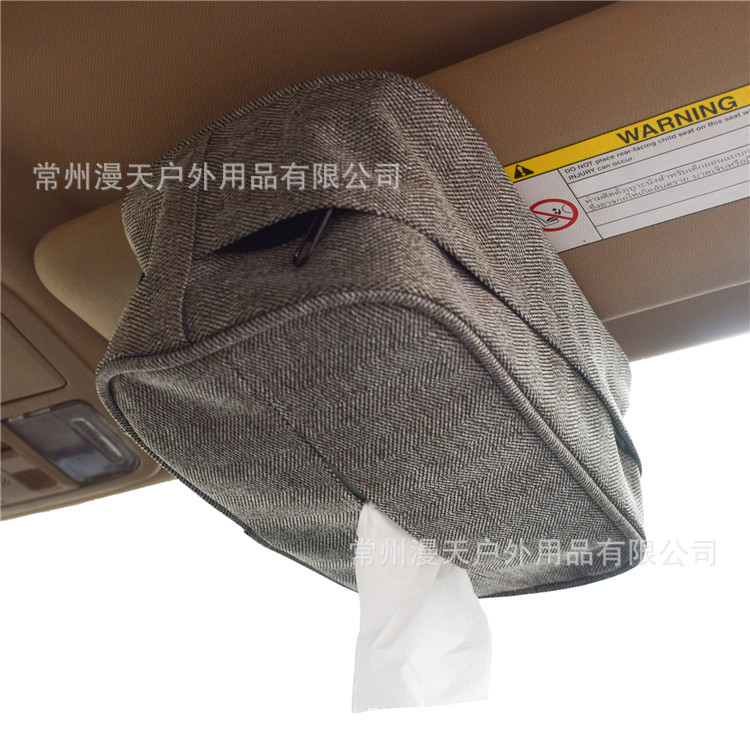 AliExpress Sun Shade Chair Hanging Car Mounted Tissue Box Creative Car Tissue Cover Paper Extraction Box