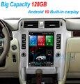 Автомобильный мультимедийный плеер, 128 ГГц, Android 10, сенсорный экран Tesla, радио, для Lexus GX 2010-2015, встроенный carplay, видео-и аудиоплеер