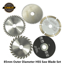 85 Mm Alat Pemotong Saw Blades untuk Power Tool Circular Saw Blade untuk Kayu HSS Saw Blade Body Cutter Circular mini Saw Blade(China)