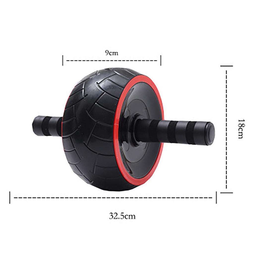 One Wheeled Abs Rollers as Training Equipment with Comfortable Grip for Abdominal Exercise in Home and Gym 2