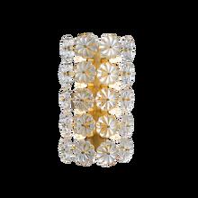 Цветок стеклянные настенная лампа, современные стеклянные подвесные лампы AC110V 220V gold гостиная прикроватные лампы освещения