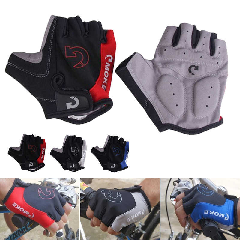 Men Women Sports Racing Cycling MTB Bike Bicycle Gel Half Finger Gloves S//M//L