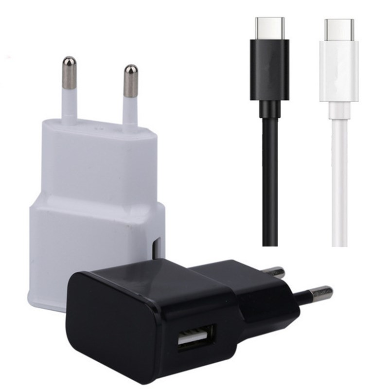 Type-C USB Fast Charging Plug Wall <font><b>Charger</b></font> Cable For Sony XA3 XZ3 LG G7 V40 <font><b>Nokia</b></font> <font><b>8.1</b></font> 7.1 6.1 5.1 X7 X6 X5 Phone Fast Charging image