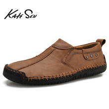 High Quality Leather Men Casual Shoes Brand 2020 Mens Loafers Moccasins Breathable Men's shoes Slip on Driving Shoes Size 38-47 new men s octopus leather penny loafers crocodile slip on driving shoes mens casual shoes moccasins business boat shoes branded