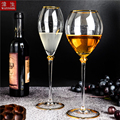 Estilo do palácio champanhe copo de vidro de cristal casamento brindar festa de ouro linha design nobre copo de vinho decoração cocktail beber