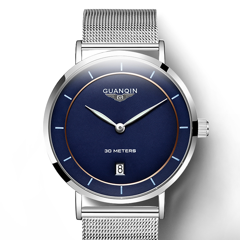 2020 Guanqin GS19070 Business Wrist Men Watches Famous Brand Classic Fashion Wristwatch New Male Quartz Watch Hodinky Man