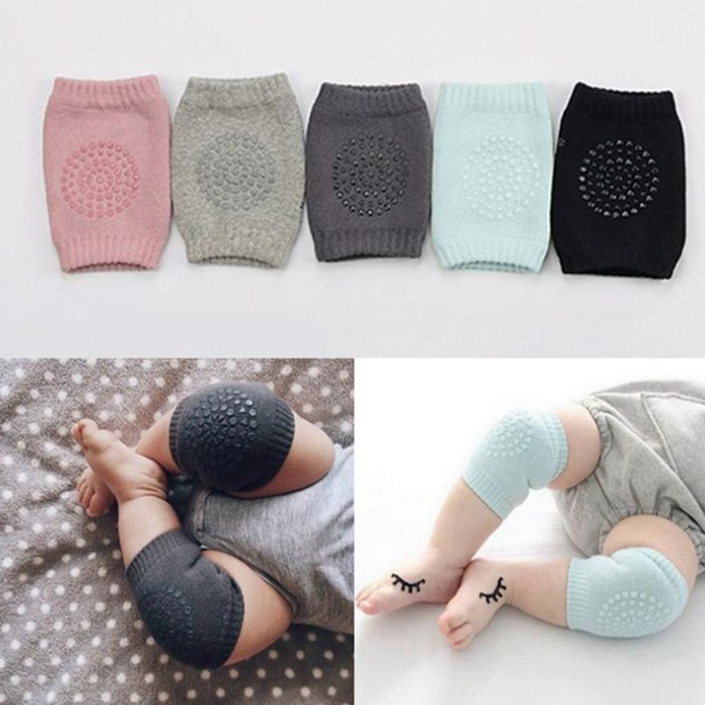 2M PCS New Born Baby Knee Pads Anti-Slip Safety Protection Cover Crawling Socks Toddlers Baby Knee Pads Gift For 0 -12 Month