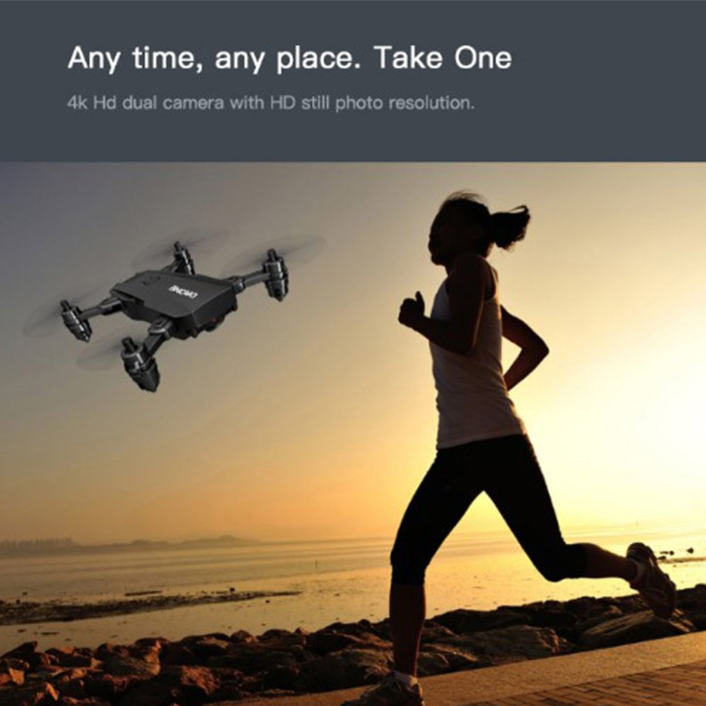 lowest price 2 4G L107 1080P Dual Wifi Cameras Drone 120M RC Drone GPS Full Wide-Angle Camera APP Gesture Shot Smart Follow Up RC  Drone