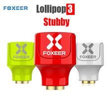 2PCS Foxeer Lollipop 3 Tozzo 5.8GHz 2.5Dbi RHCP/LHCP FPV Funghi 4.8g Antenna SMA per FPV modelli Da Corsa del RC Drone