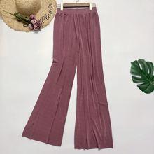 Женские свободные брюки dsswei повседневные длинные с высокой