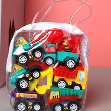 Taxi Model Toy Car-Toys Diecasts Fire-Truck Pull-Back Mobile-Vehicle Gift Mini Cars Children