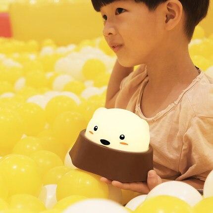 Милый светодиодный светильник Diglett для малышей, потрепанный ночным светом для детей, креативный подарок, прикроватный, новый и strang