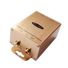 Niesymetryczne Audio do zbalansowanego adaptera i konwertera linia Stereo Audio do adaptera XLR wejście RCA profesjonalny sprzęt Audio wyjścia tanie tanio MuxBOXS BRAK ZASILANIA MB-UTBIC 2 (2 0) 0 01 20-20K Hz 90dB(Min) 85dB(Min)