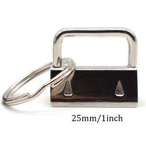 Image 5 - 60 sztuk klucz pierścień sprzętu brelok bransoletka elementy konstrukcyjne z smycz pierścień, brelok do kluczy sprzętu i podział pierścień dodatki