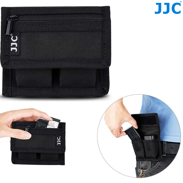 LP E6 LP E6N LP E6NH Battery Pouch Bag Memory Card Case for SD CF XQD for Canon EOS R R6 R5 Ra 90D 80D 6D mark II 5D Mark III IV