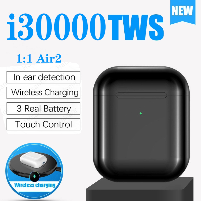 i30000 <font><b>Tws</b></font> 1:1 Replica Touch Control Wireless Bluetooth Earphones PK H1 W1chip i10000 i1000 i2000 i5000 i800 i3000 <font><b>i9999</b></font> i10 <font><b>TWS</b></font> image