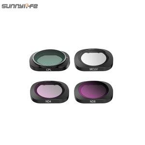 Image 5 - 3/4/6 Pcs Sunnylife FIMI PALM MCUV CPL ND ND4 ND8 ND16 ND32 Objektiv Filter Set Für FIMI PALM gimbal Kamera Zubehör