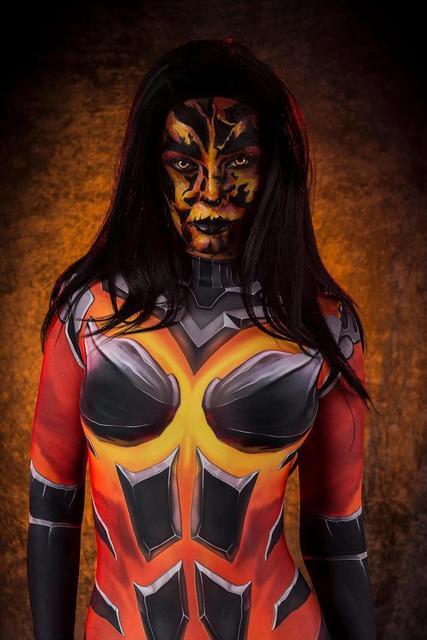 D.Va Costumes dva Destroyer Fuel Cosplay Bodysuit 3D Printed Zentai Suit Halloween Costume Adults Kids 1