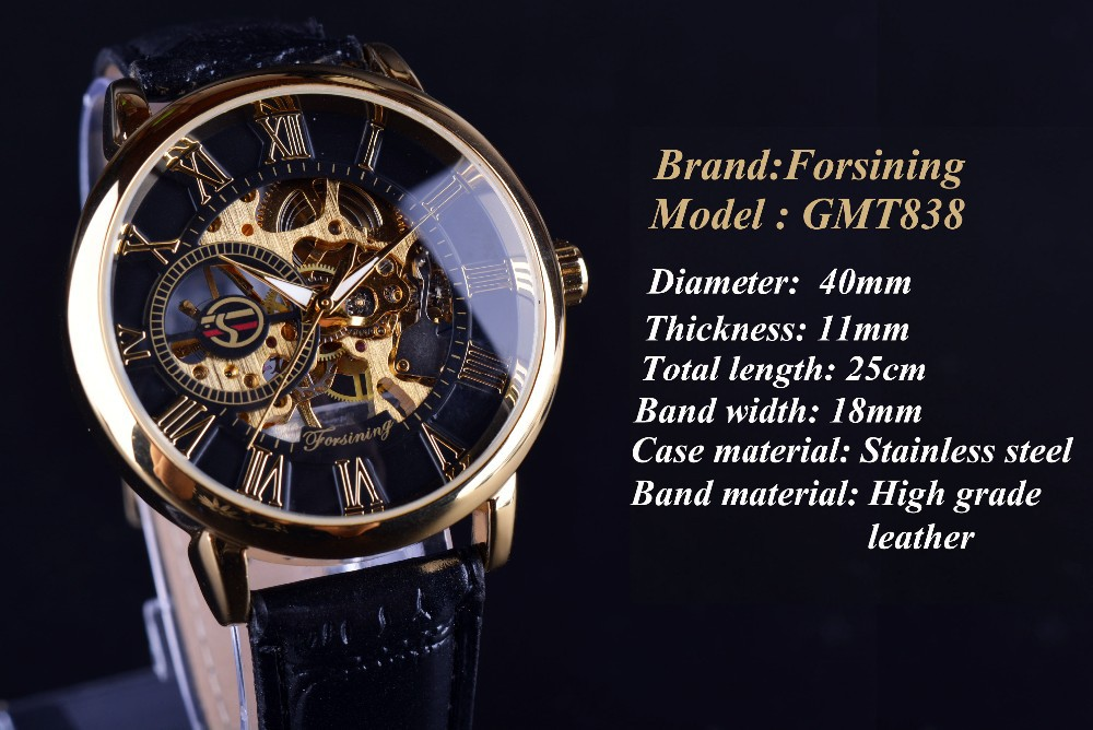 H62a8ed4cf3184576905067d46d1a4df8Y Forsining 3d Logo Design Hollow Engraving Black Gold Case Leather Skeleton Mechanical Watches Men Luxury Brand Heren Horloge