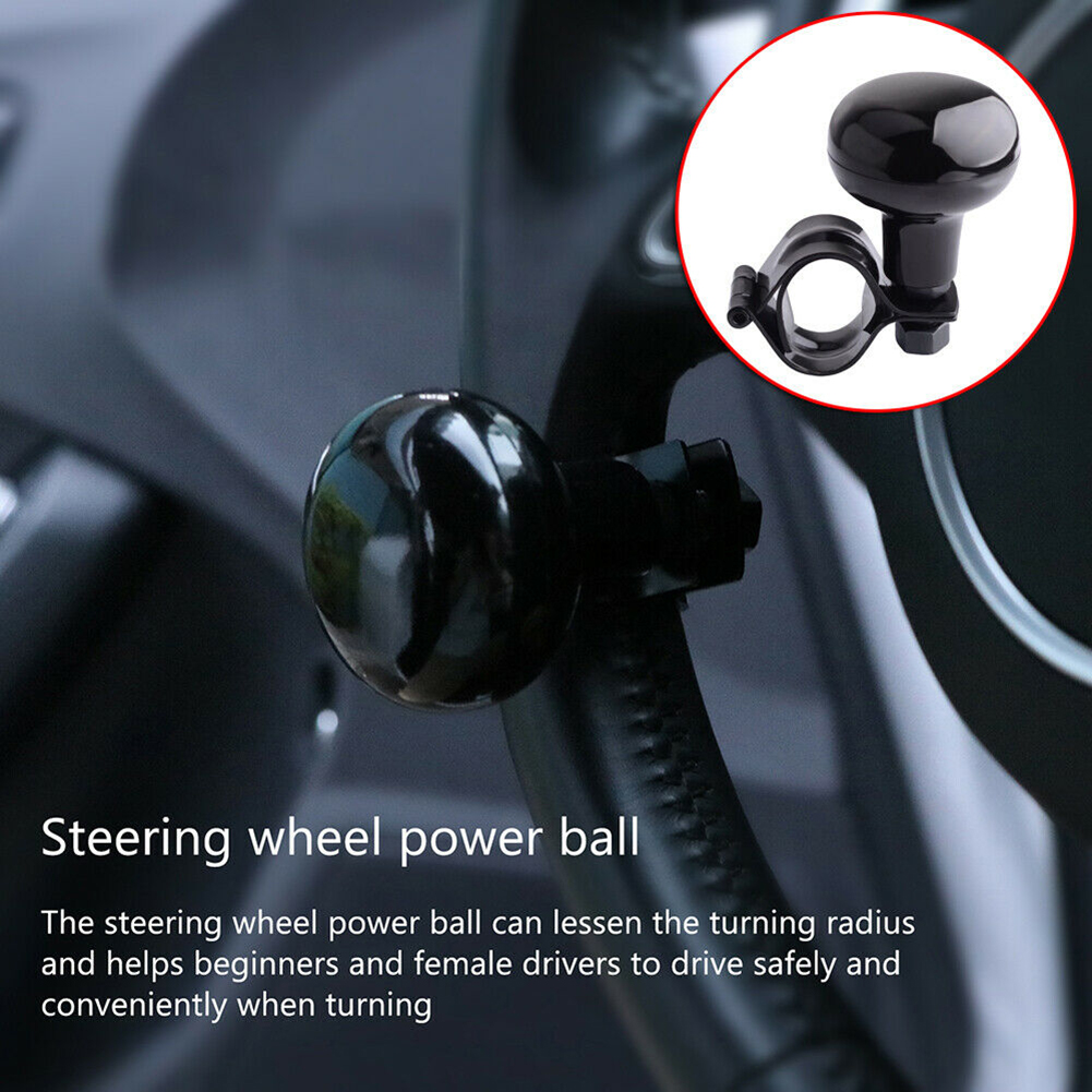 QUALITY UNIVERSAL Turning Aid Steering Wheel Knob Spinner Fast Handle Hand Truck