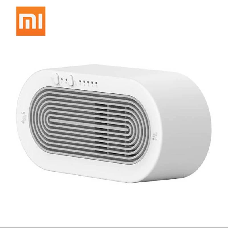 XIAOMI Deerma Electric Heater Fan Desktop Heating Fast Power Saving Warmer For Winter Office Mini Portable Heaters