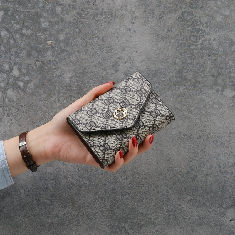 Fashion Letter Leather Women Wallet Hasp Coin Purse Female Wallet And Small Purse Ladies Purses Card Holder Short Carteras