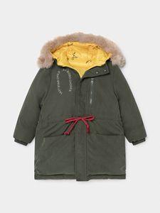 Image 5 - 幼児の少年ジャケット幼児少女の冬服ベビージャケット子供ジャケットボボダウンコート OUTWEARS クリスマス服毛皮のコート