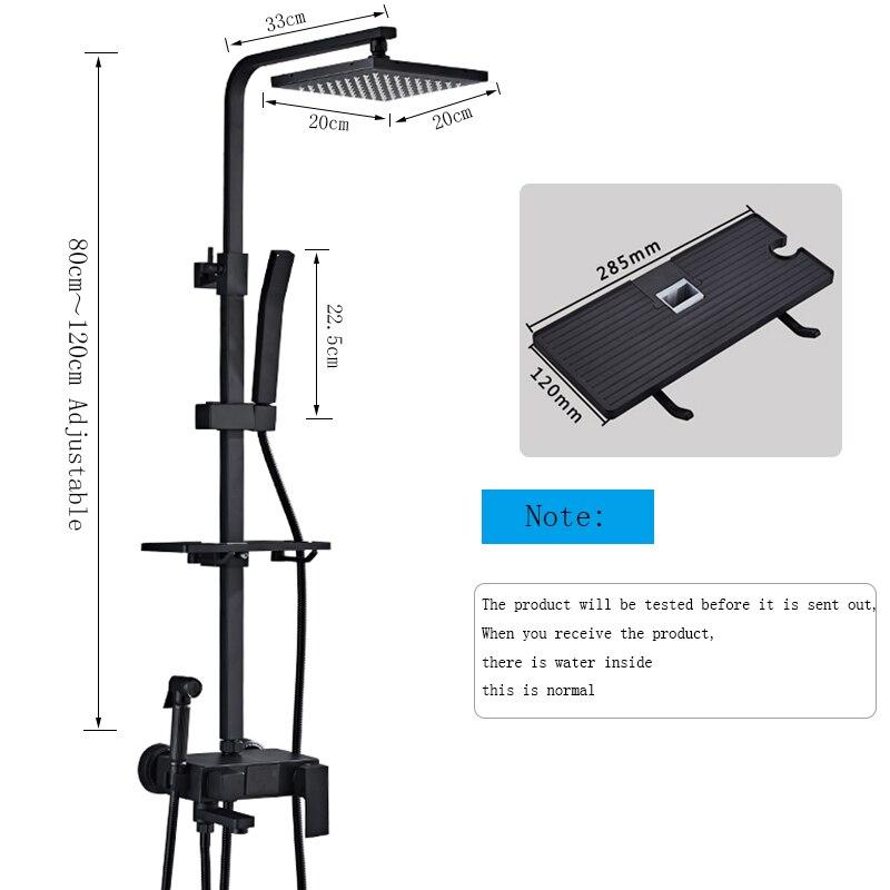 H62a96060abf94726afac99ee20628e79B Thermostatic Digital Display Shower Faucet Set Shower Mxer Crane Rain Shower Bath Faucet Bathtub Shower Mixer Taps Bidet Faucet