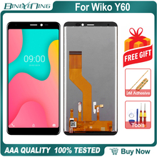 New Original For Wiko Y60 LCD&Touch screen Digitizer with frame display Screen module accessories Assembly Replacement Tools