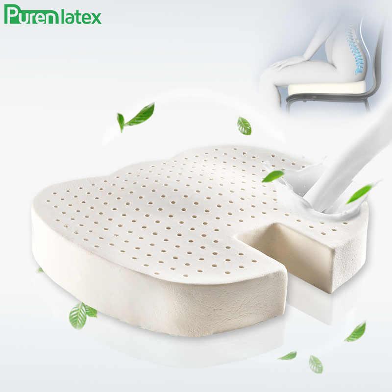 purenlatex natural latex cushions orthopedic seat relief tailbon pain cushions sciatica coccyx car cushion on chair hemorrhoids