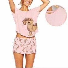 Women's Pajama Sets Dachshund Pug Corgi Chihuahua German She