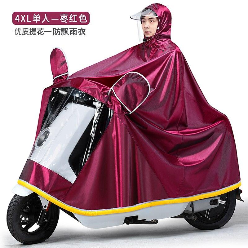 Waterproof Large Jacket Raincoat Women Set Ladies Hooded Raincoat Lightweight Stylish Outdoor Regenpak Dames Rainwear 505050