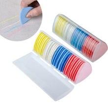 Renkli silinebilir kumaş terziler tebeşir kumaş Patchwork işaretleyici giyim desen DIY dikiş aracı İğne aksesuarları