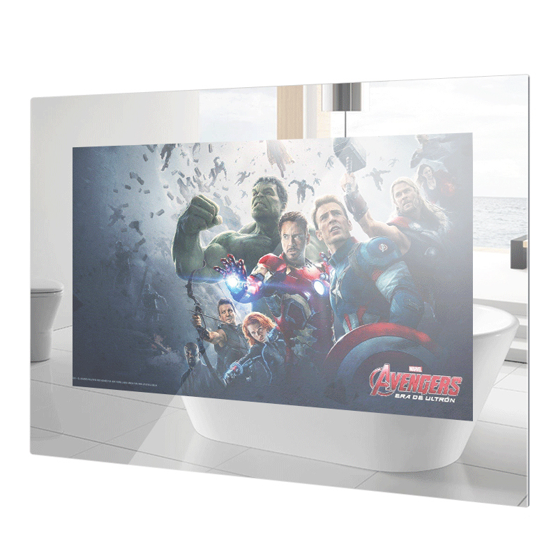 LED TV Glass-Panel Led-Tv 27inch Bathroom Waterproof Android Wi-Fi Full-Hd 1080 Internet