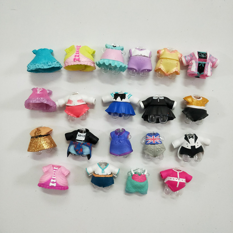 100% Original LOL Surprise Dolls Lols Accessories Brand New Dolls Random 1pcs Fashion DIY Clothes Accessories For Girl's Gifts
