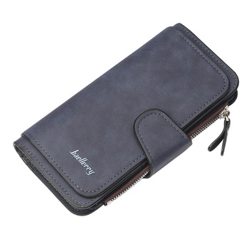 Women Wallets Name Engrave Fashion Long Leather Top Quality Card Holder Classic Female Purse  Zipper  Wallet For Women 23