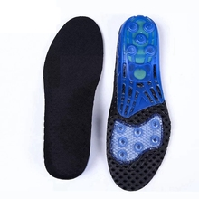 Silicone Insoles High Elasticity Increase Shock Absorption Pads Foot Care Orthopedic Insole Outdoor Leisure Inserts & Cushions цена 2017