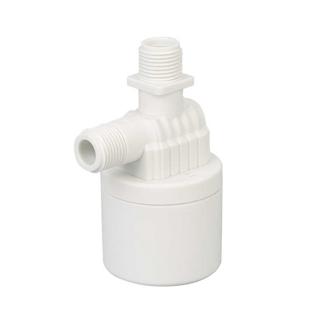 1/2'' Practical Durable Home Replacement Threaded White Water Level Control Full Automatic Easy Install Tool Nylon Float