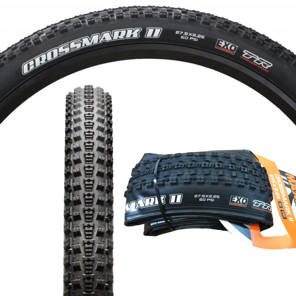 "EXO TR Black 27.5 x 2.25/"" Maxxis Bike Tyre MTB Crossmark II"