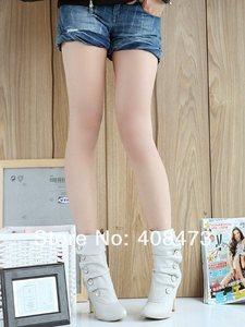 Image 2 - ANMAIRON على بيع Winther جديد مثير نمط عالية الكعب بولي PU منتصف العجل أحذية السيدات جميل موضة أحذية ثلج ألوان امرأة أحذية بوت قصيرة