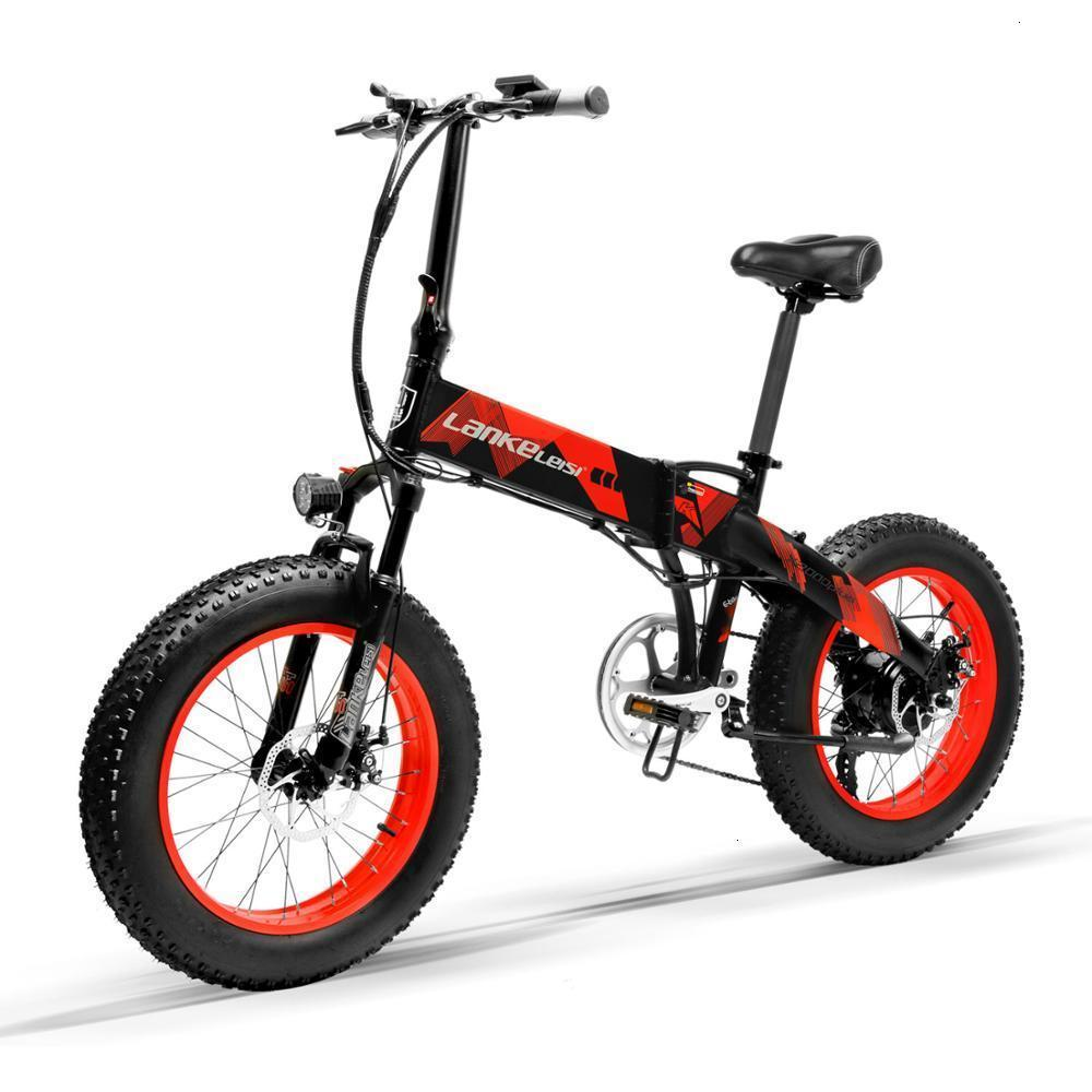 Electric LANKELEISI   X2000Plus foldable 20 inch Bicycle 400W Motor 13AH L G Lithium Battery for professional rider 2
