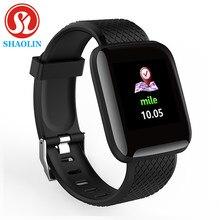 Bluetooth relógio inteligente pulseira de fitness esportes pulseira inteligente medição da pressão arterial pedômetro smartband relógio