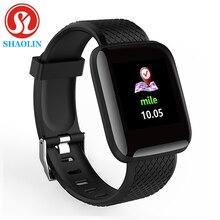 Reloj inteligente deportivo con Bluetooth, pulsera inteligente deportiva con podómetro y medición de la presión sanguínea