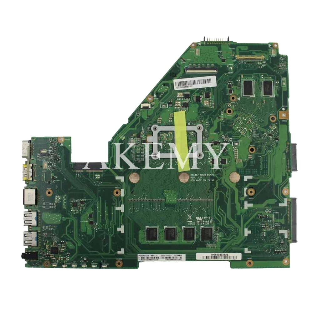 Image 3 - X550EP Motherboard E2 6100 CPU 4GB RAM For ASUS X550E X550EP  X550E D552E X552E Laptop motherboard X550EP Mainboard test 100%  OKMotherboards