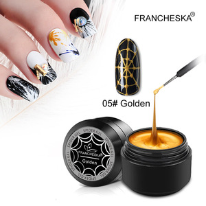 1 Pc New Fashio Nail Art Stretch Drawing Glue Super Strong Stretch Japanese Drawing Glue Painted Glue Nail Polish Spider Gel