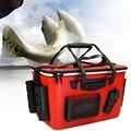 Outdoor Große Kapazität EVA Angeln Box Wohnzimmer Reißverschluss Multi Taschen Tragbare Tackle Lagerung Schulter Gurt Tragen Beständig-in Angelkisten aus Sport und Unterhaltung bei
