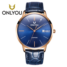 ONLYOU Mens Watches Top Brand Luxury Fashion Casual Quartz Woman Watch Relogio Masculino Wholesales 1026