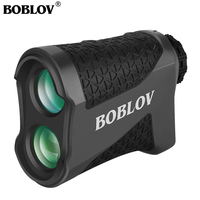 Boblov k600g golf range finder 600 jardas golf rangefinder com flaglock 6x ampliação laser range finder medida com saco Telêmetro a laser     -