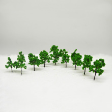 LR-4527 architectural model making building material TREES 45MM Architectural tree,Scale Train Layout Set Model Trees