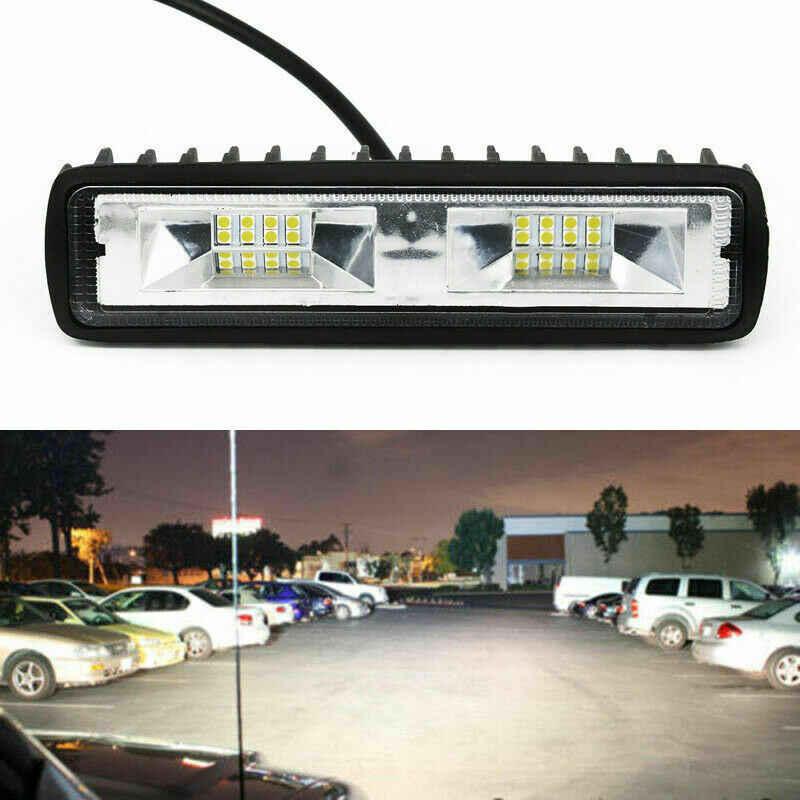 Nuevas luces de trabajo calientes 18W 12V 16LED, luces de trabajo en forma de I, faros antiniebla de conducción, nuevos faros, luces de coche, luz de señal